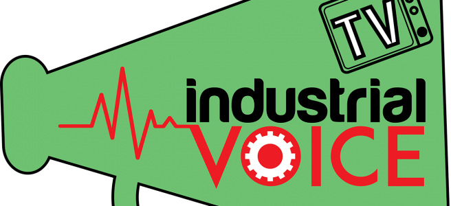 IVTV logo megaphone